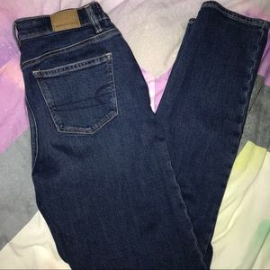 Dark Wash Super Stretch Mom Jeans